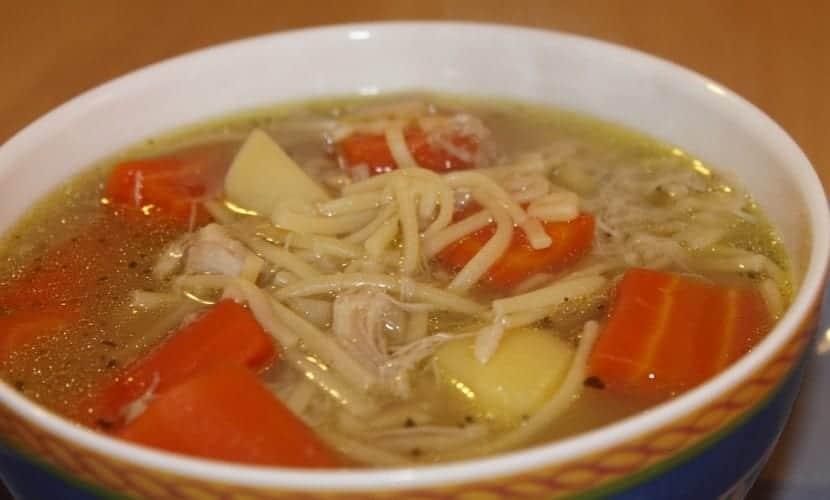 Cuántos gramos de pasta por persona para sopa