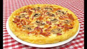 pizza de patatas sin gluten