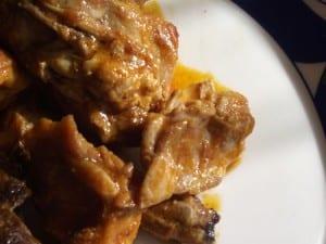 rica y sencilla receta de conejo con salsa romesco