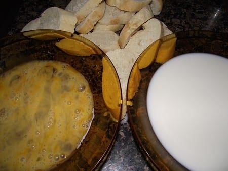 ingredientes para mojar el pan