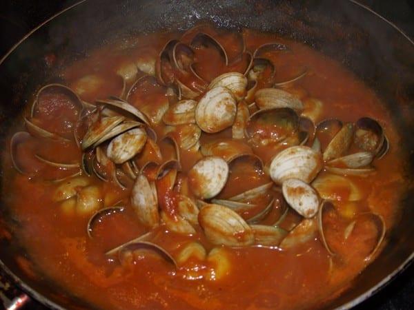 salsa picante espesando
