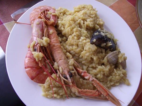 receta de arroz con marisco finalizada