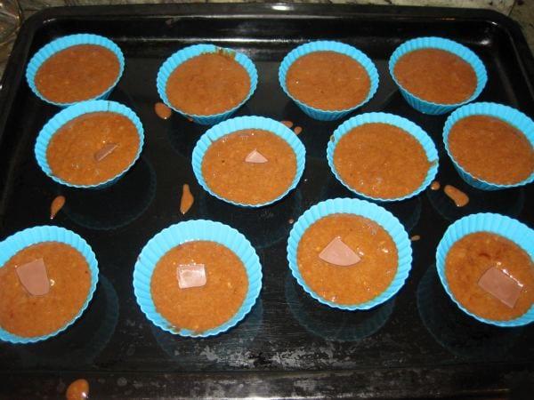 Muffins para hornear