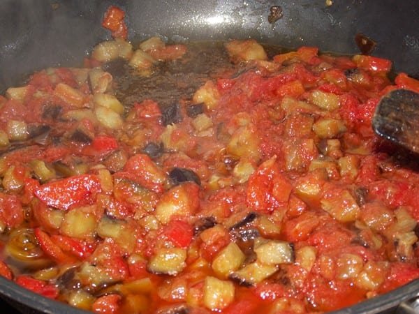 verduras pochadas