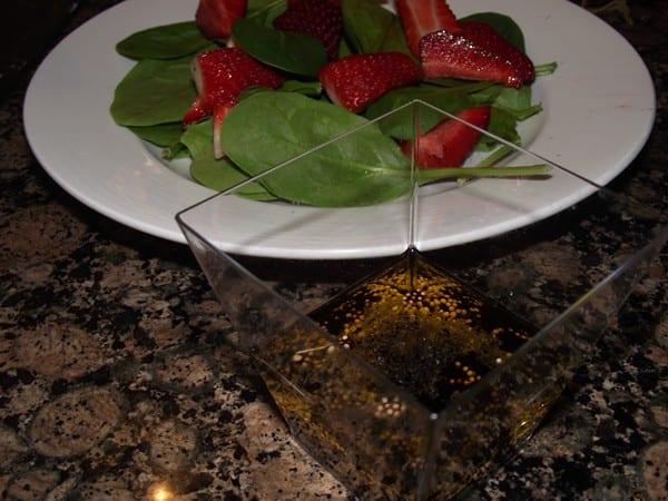 receta finalizada de ensalada de primavera