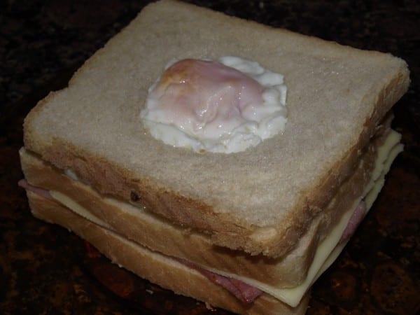 receta finalizada de sándwich especial
