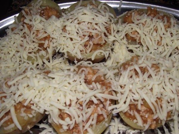 patatas con queso para gratinar