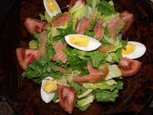 ensalada preparada
