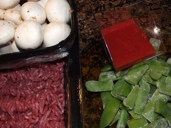 ingredientes básicos para la receta