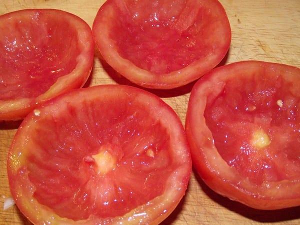 Tomates vacios