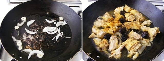 Delicias de pollo exótico en 10 minutos