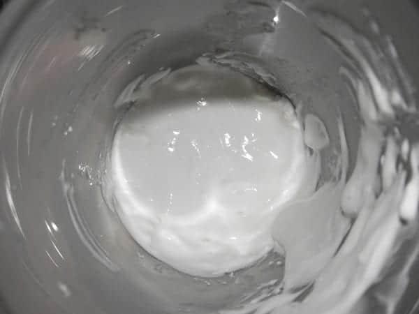 espuma de requeson