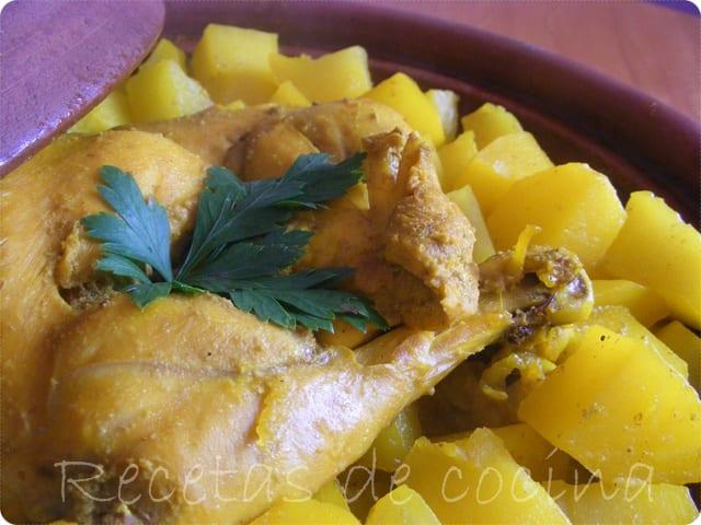 Tajine de pollo al comino