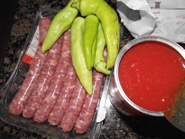 ingredientes para la receta