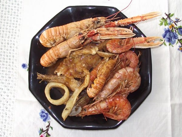 receta finalizada de zarzuela de pescado