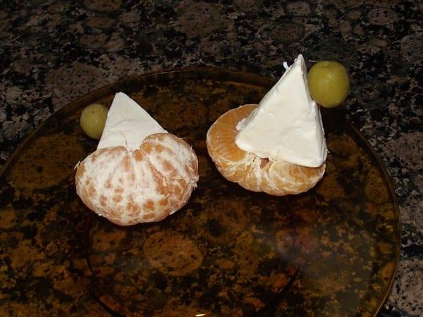 receta de Veleros de mandarina y queso