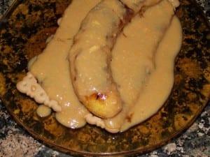 receta-finalizada-de-plátano-frito-al-caramelo