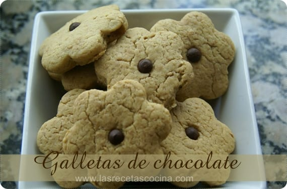 Galletas suaves de chocolate