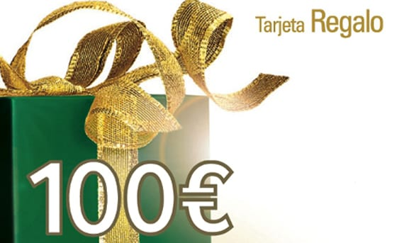 Tarjeta regalo 100 euros