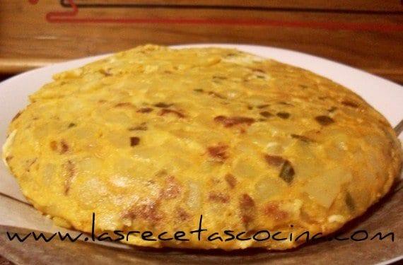 Tortilla española, la tradicional tortilla de patatas