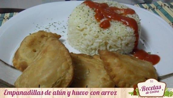 Empanadillas de atún y huevo, receta sencilla especial para niños