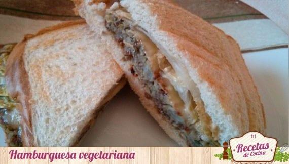 Hamburguesas de lentejas y garbanzos, receta para vegetarianos