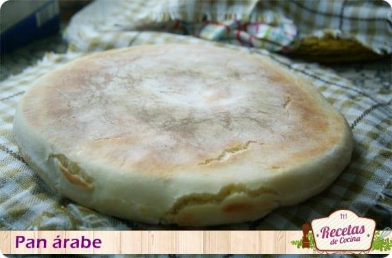 Receta fácil de pan árabe