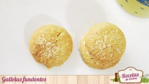 Galletas fundentes