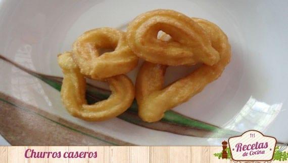 Churros caseros, receta tradicional para disfrutar de un buen desayuno