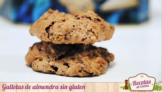 Galletas de almendra sin gluten