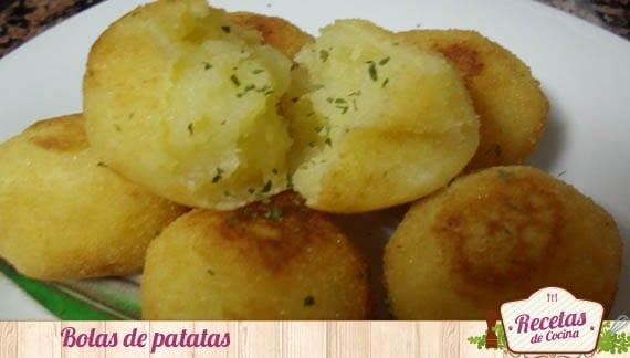 Bolas de patatas, especial para bebés