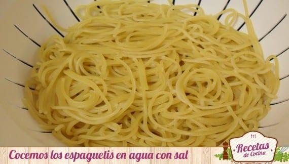 Espaguetis al diablo