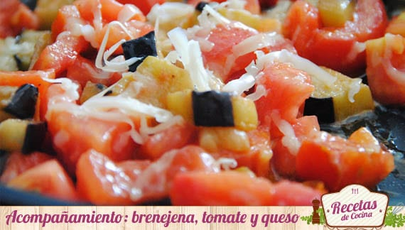 Berenjena, tomate y queso