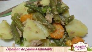 Ensalada de patatas saludable