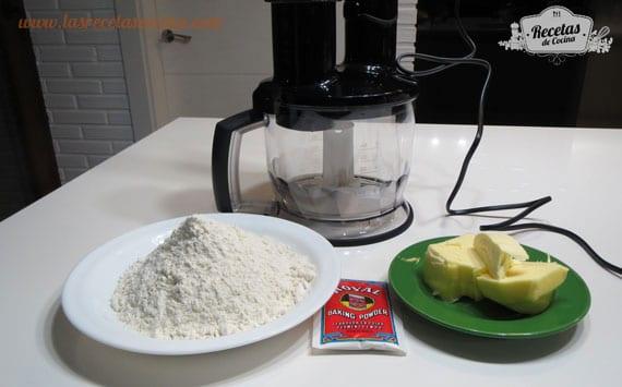 Ingredientes quiché de calabaza