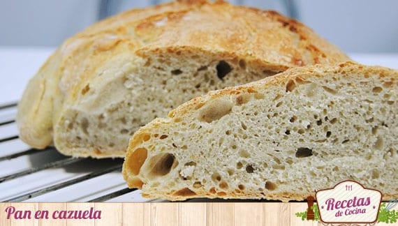 Pan en cazuela