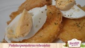 Patatas panaderas rebozadas