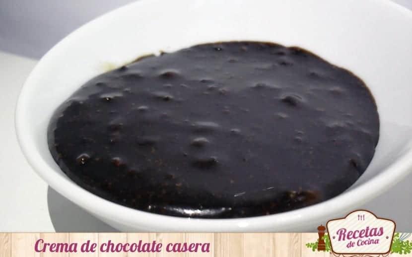 Crema de chocolate casera