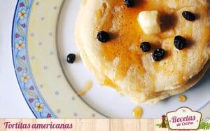 Tortitas americanas con miel