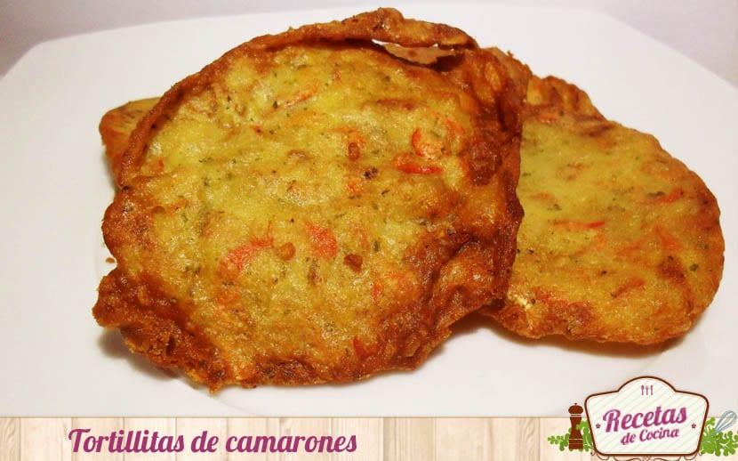 Tortillitas de camarones, receta tradicional gaditana