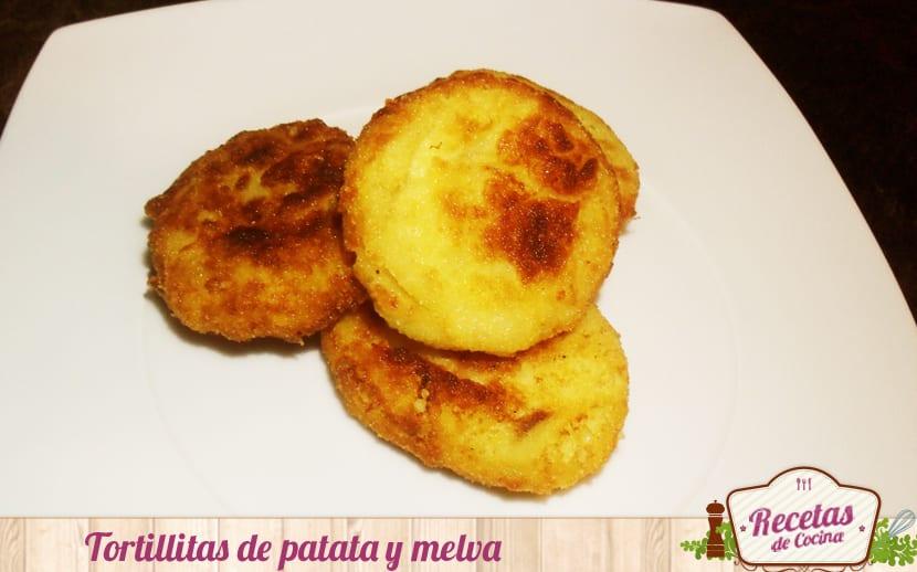 Tortillitas de patatas y melva