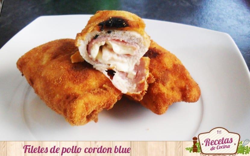 Filetes de pollo cordon bleu