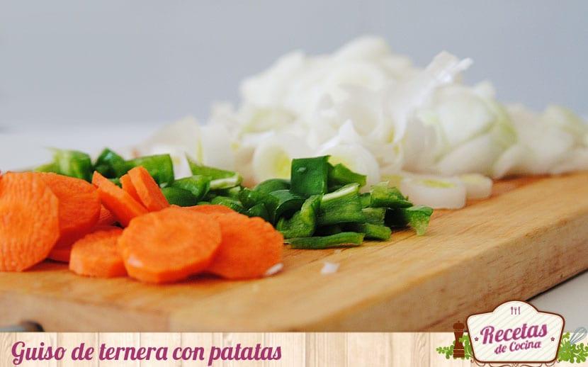 verduras para el guiso