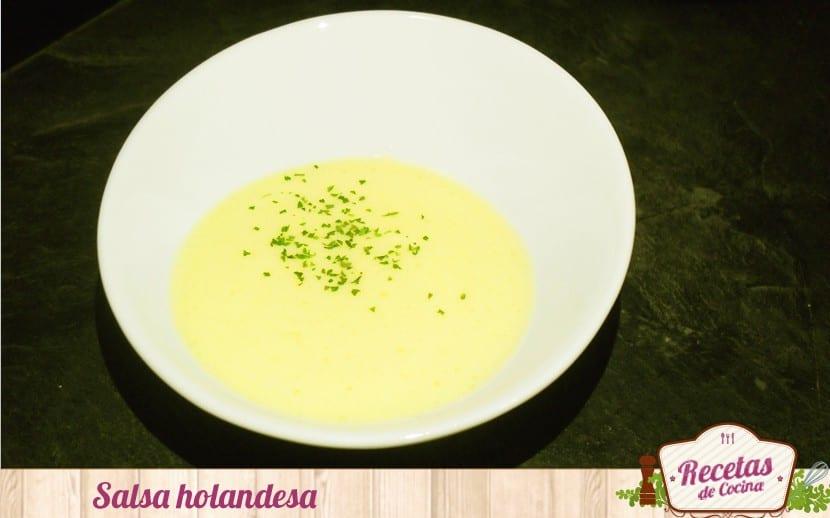 salsa holandesa