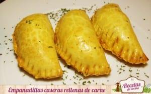 Empanadillas caseras rellenas de carne