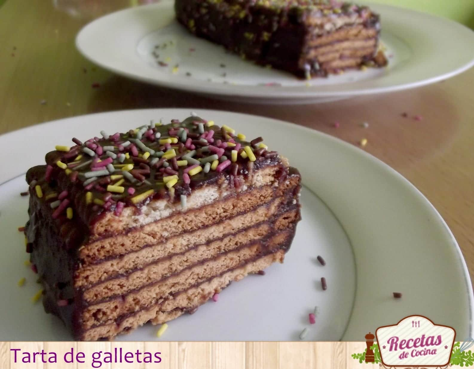 Tarta de galletas - la clásica (sin horno)