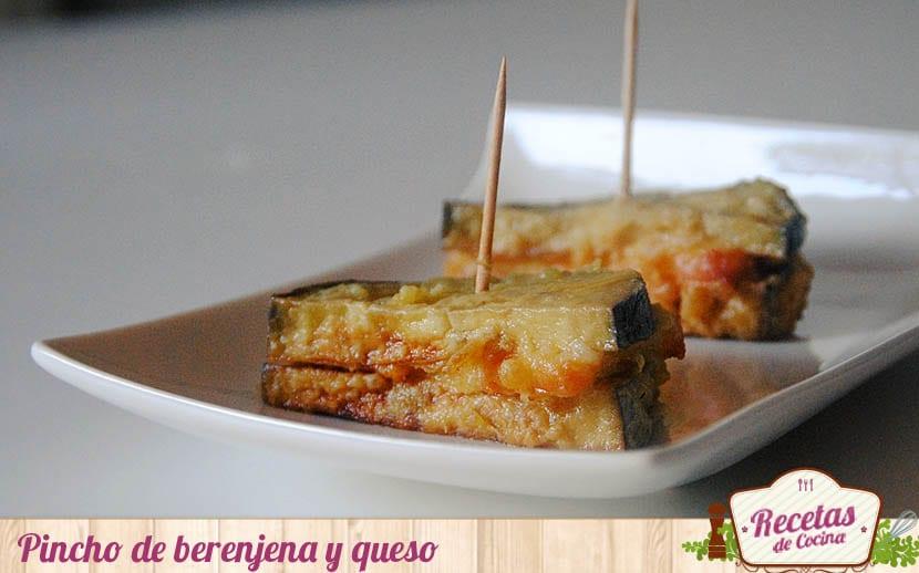Bocados de berenjena y queso