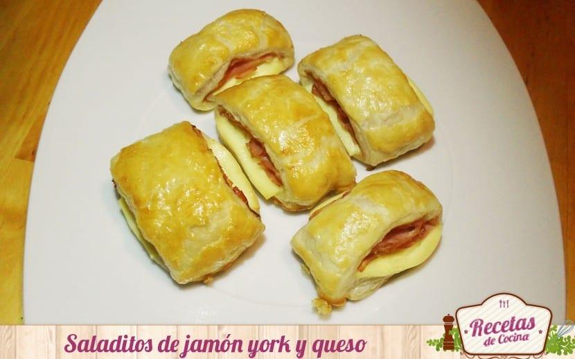 Saladitos de jamón y queso