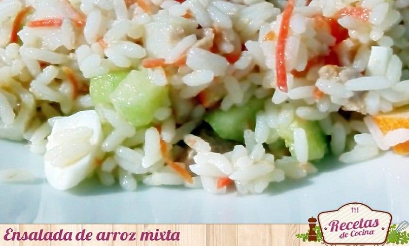 Ensalada de arroz mixta 3