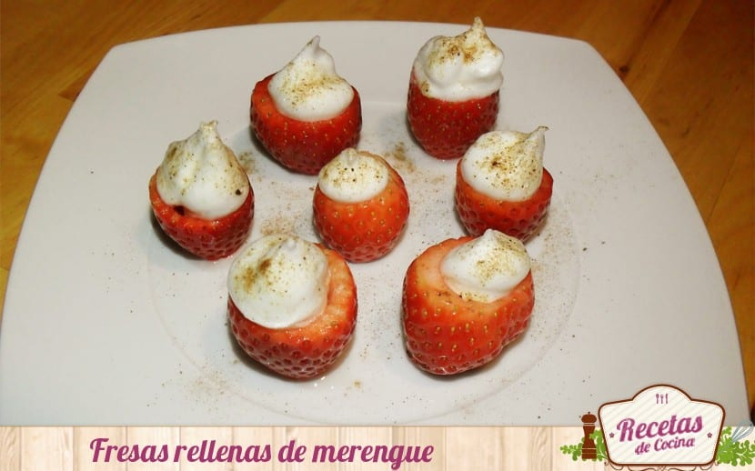 fresas rellenas